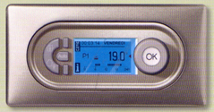 Thermostat de chauffage programmable